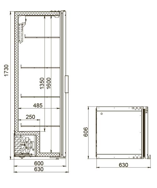 Холодильный шкаф POLAIR DM104-Bravo - 6