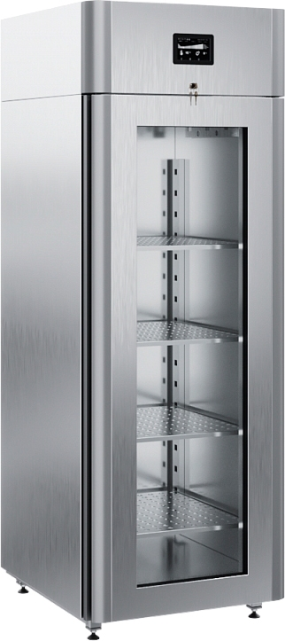 Специализированный шкаф для сыра POLAIRCS107-Cheese (со стеклянной дверью) - 1
