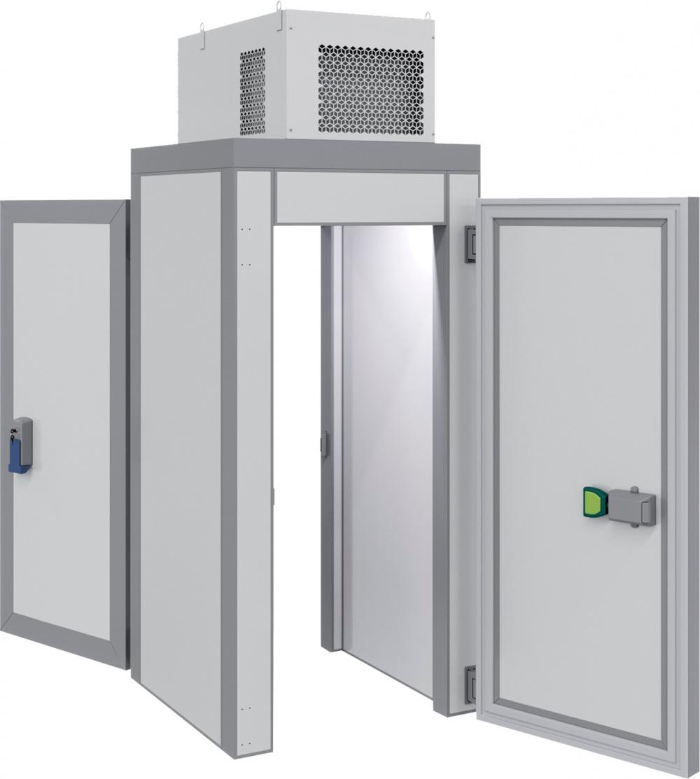 Холодильная камера POLAIR КХН-1,28 MinicellаММ 2дверибезпола - 1