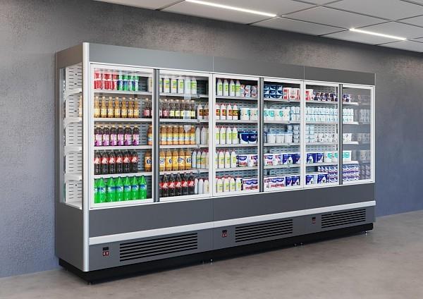 Холодильная горка POLAIR CUBE MGPlug-In 520-07 - 1