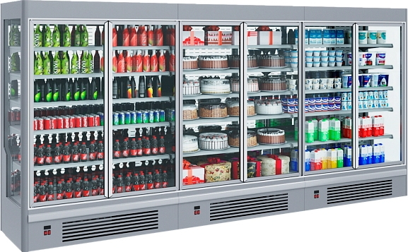 Холодильная горка POLAIR STRETTO MPlug-In 2500-07 - 1