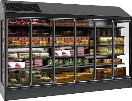 Холодильная горка POLAIR MONTE MHPlug-In 2500 - 1