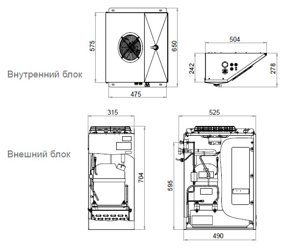 Сплит-система POLAIR SМ115P - 1