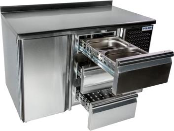 Холодильный стол POLAIR TM2GN-G - 1