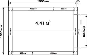 Холодильная камера POLAIR КХН-4,41 - 2