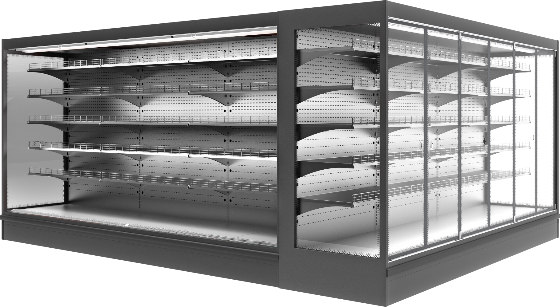 Холодильная горка POLAIR MONTE MaxiSH2500 - 1