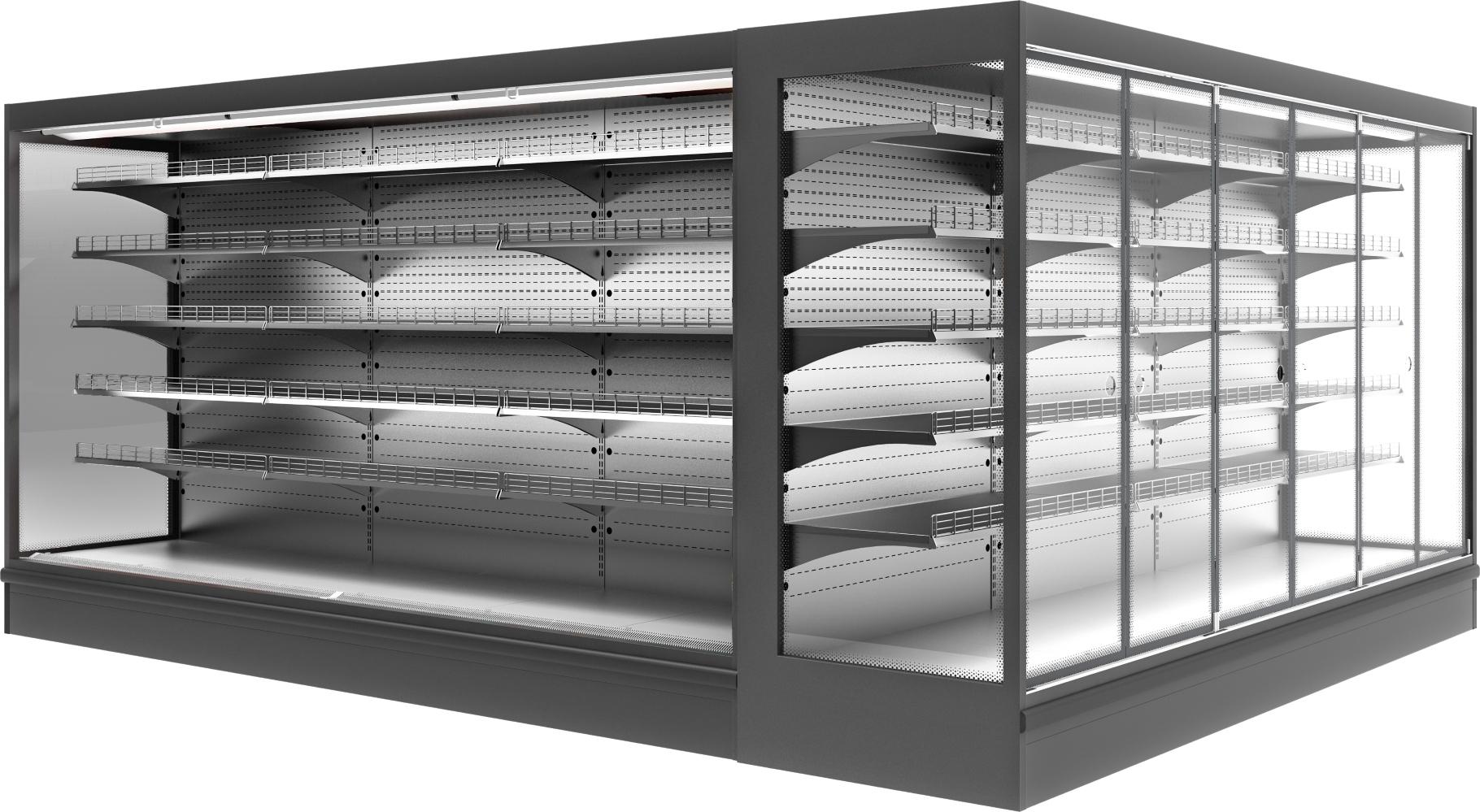 Холодильная горка POLAIR MONTE MaxiS2500 - 1