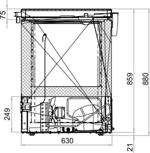 Морозильный ларь POLAIR SF150LF-S - 1