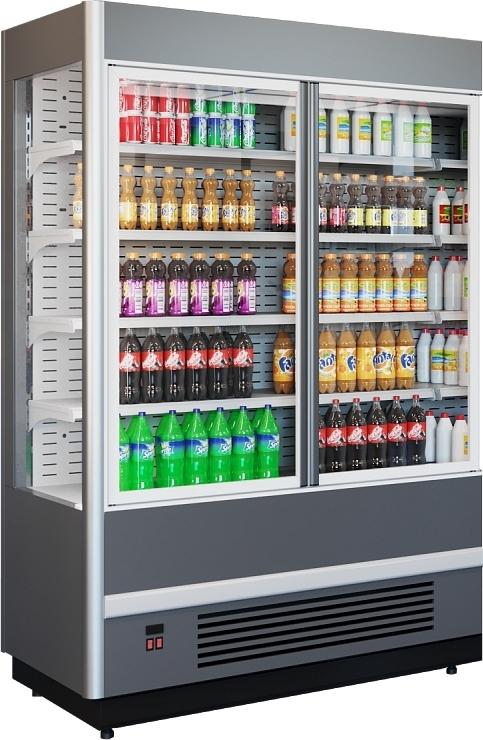 Холодильная горка POLAIR CUBE MPlug-In 1250-07 - 1