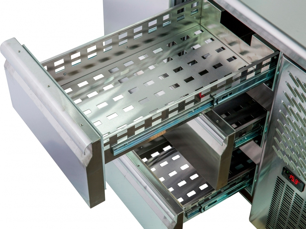 Холодильный стол POLAIR TM2GN-33-G - 1