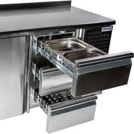 Холодильный стол POLAIR TM3GN-222-G - 2