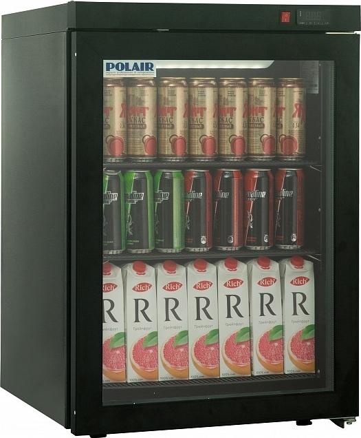 Холодильный шкаф POLAIR DM102-Bravo чёрный - 1