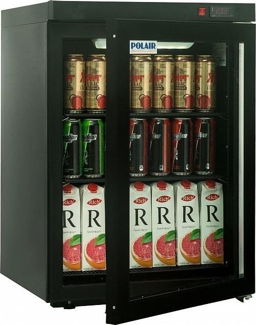 Холодильный шкаф POLAIR DM102-Bravo чёрный - 2