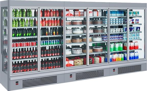 Холодильная горка POLAIR STRETTO MPlug-In 1250-07 - 1