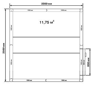 Холодильная камера POLAIR KXH-11,75 - 2